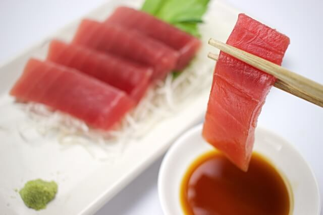 マグロはアスタキサンチンを含まない食品(食材)のひとつ