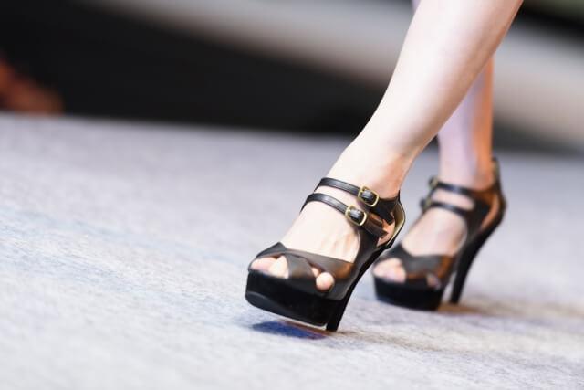 靴擦れ予防に正しい歩き方を取り入れることが重要