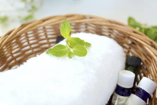 カブキブラシを洗い終えたらしっかりと水気を拭き取って自然乾燥させる