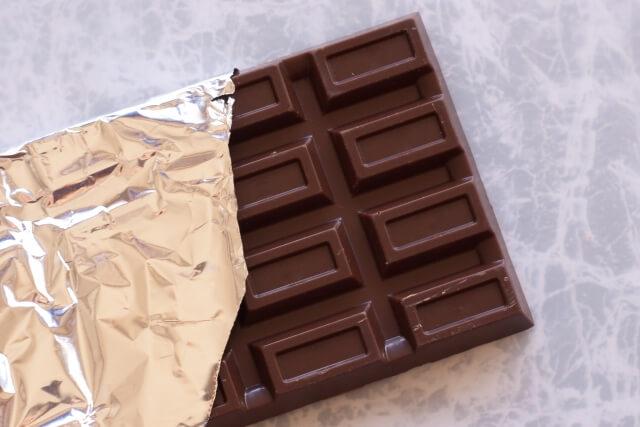 ショ糖脂肪酸エステル配合のチョコレート