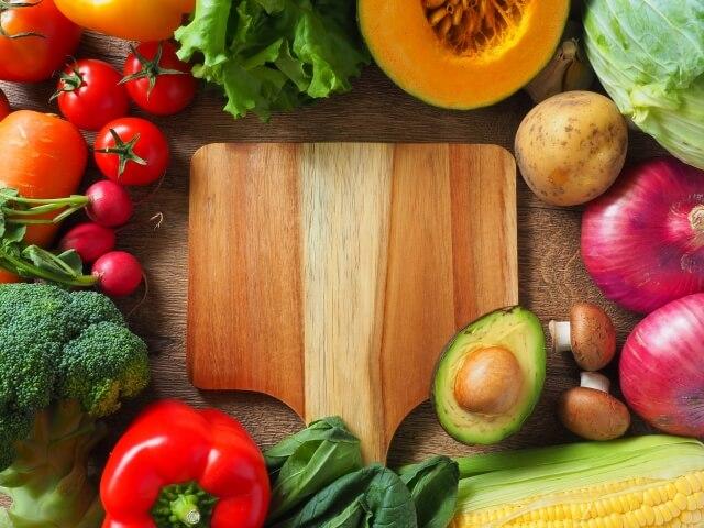 野菜・果物によるコールドプレスジュース