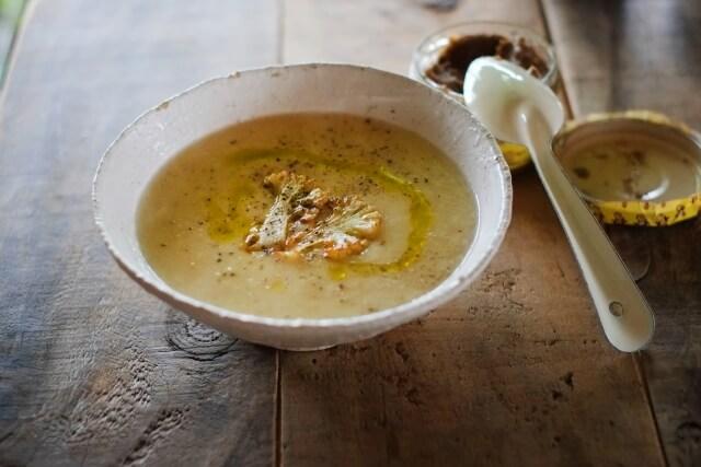 ジュースクレンズ終了後は身体がとてもデリケートな状態になっているのでスープなどで徐々に身体を慣らしていくと良い