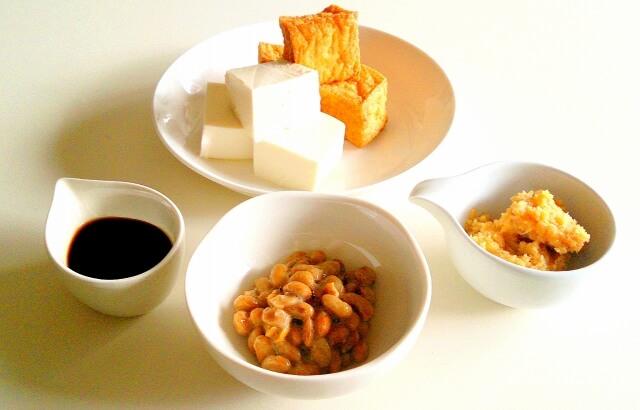 大豆製品にはレプチンの原料となるタンパク質が豊富に含まれている