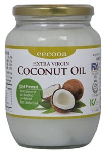 eecooa・エクーアのエキストラバージンココナッツオイル