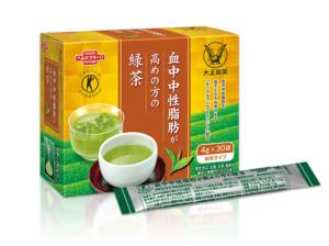 大正製薬の血中中性脂肪が高めの方の健康緑茶(粉末清涼飲料)