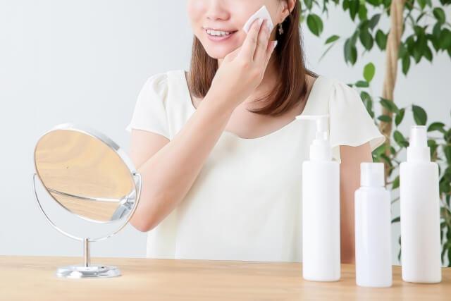 美容・美肌に気をつける女性