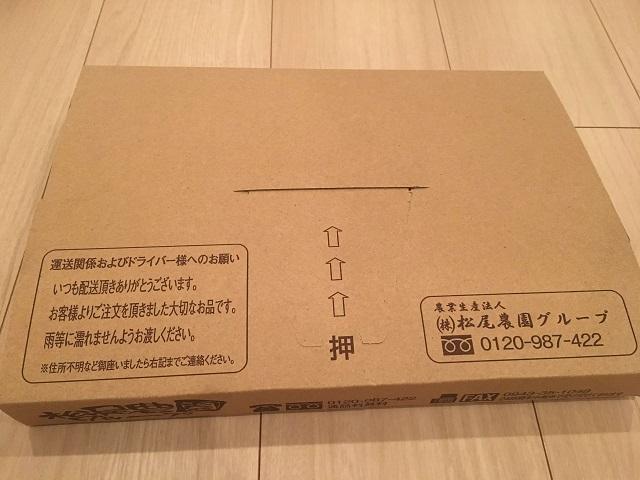 松尾農園の熟成発酵黒にんにく、郵送形式