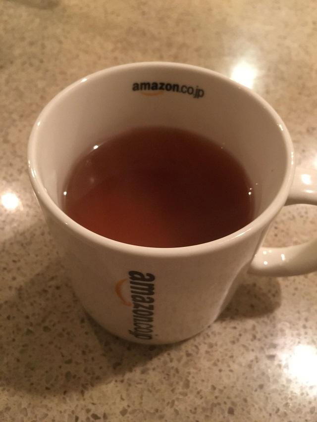 美撰 なたまめ茶の色・味