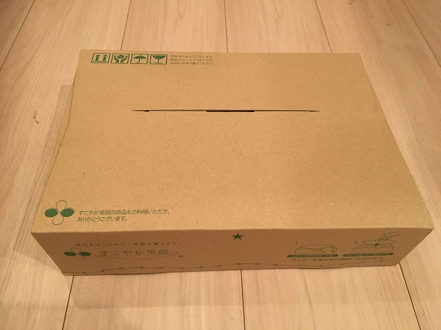 薬用ホットタブ重炭酸湯が届いた・箱