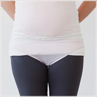 妊娠中における骨盤ベルトの付け方10
