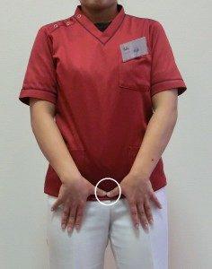 産後骨盤ベルトの正しい付け方2