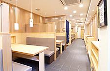 富寿司のボックス席